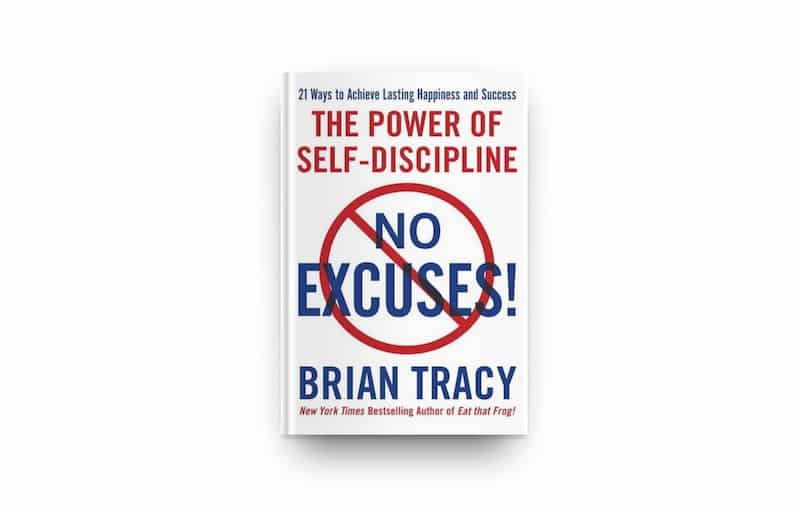 Cover van No Excues van Brian Tracy