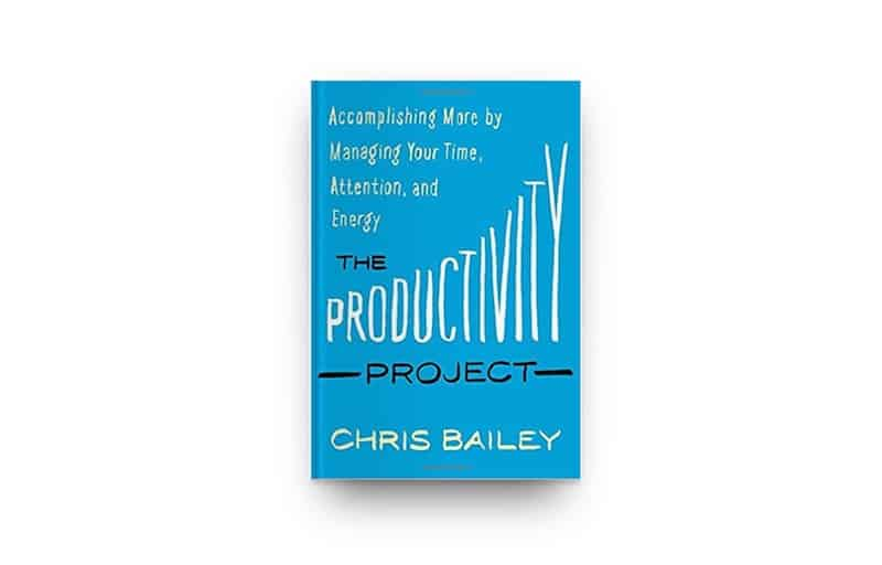 Cover The Productivity Project van Chris Bailey